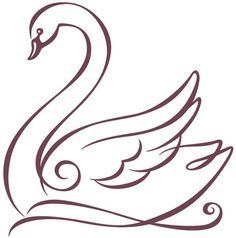 Hotel Bel-Air Swan - Graphis - Hotel Bel-Air Swan – Graphis Informations About Hotel Bel-Air Swan – Graphis Pin You can easily - Art Drawings Sketches Simple, Easy Drawings, Sketch Drawing, Stencil Patterns, Embroidery Patterns, Schwan Tattoo, Swan Drawing, Swan Painting, Pencil Art