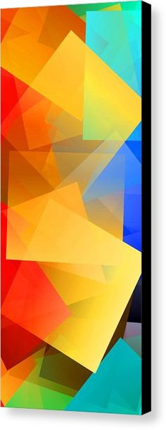 Simple Cubism 15 Canvas Print by Chris Butler.  #art #cubism #deco #design #interior #home #wall #modern #contemporary