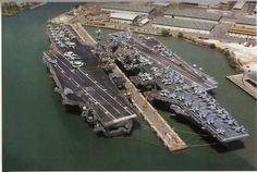 USS Independence&USS Kitty Hawk