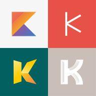 Letter K vector art illustration K Logos, Letter K, Free Vector Art, Logo Inspiration, Royalty Free Images, Signage, Alphabet, Logo Design, Typography
