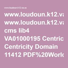 centricity domain cong works enghs