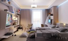 Super Creative rooms for teenagers