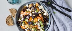 Kung Pao Chicken, Dinner Tonight, I Love Food, Low Carb Recipes, Feta, Acai Bowl, Lunch, Meals, Dishes