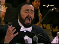 "Luciano Pavarotti's last performance of his signature ""Nessun Dorma"" at the 2006 Winter Olympics in Torino.   At age 71, still an amazing singer.  He died a year-and-a-half later of pancreatic cancer."