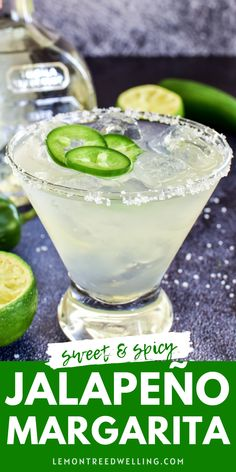 Margaritas are a classic, and these Jalapeño Margaritas are a deliciously spicy twist. Infused with the flavor of fresh jalapeños and lime juice, they're the perfect drink for Cinco de Mayo, Taco Tuesday, or anytime you're craving a little something spicy! Kid Drinks, Yummy Drinks, Beverages, Fun Cocktails, Cocktail Drinks, Vodka Tonic, Crockpot Hot Chocolate, Jalapeno Margarita, Blended Drinks