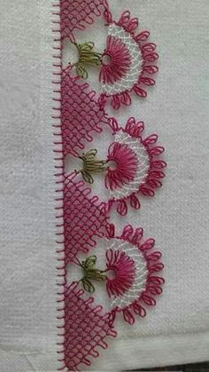 Embroidery Stitches, Hand Embroidery, Embroidery Designs, Sara Fashion, Needle Lace, Knitted Shawls, Knitting Socks, Tatting, Diy And Crafts