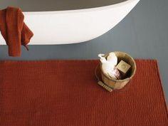 Tapete de tecido para banheiro PLISS by Society Limonta