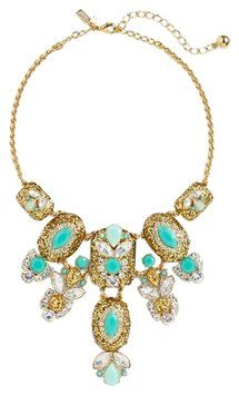 Kate Spade Kate Spade New York Showgirl Gems Bib Statement Necklace