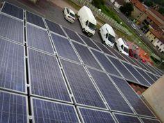 Placas solares fotov