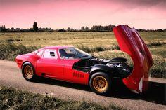 marciano 268a - vincenzo marciano - alfa montreal engine + gearbox + alfa romeo 33 stradale wheels + ferrari 250 lm windscreen