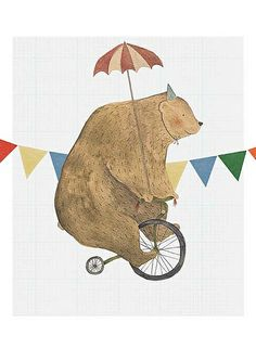 Bruno the bear    He's back. I've changed the background a little bit and I think he looks better this way.    studiomeez.blogspot.com/