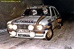 Vatanen Ford Motorsport, Automobile, Ford Escort, Rally Car, Car And Driver, Retro Cars, Courses, Fast Cars, Cars And Motorcycles