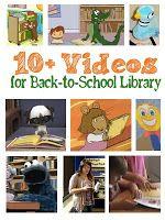 10+ Videos for Back-to-School Library | RiskingFailure.blogspot.com