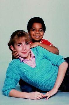Dana Plato (as Kimberly Drummond), Gary Coleman (Arnold Jackson) ~ Diff'rent Strokes ~ Publicity Stills ~ 1981, NBC ~ #sitcoms80s #80stvshows #differentstrokes