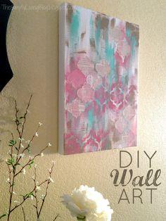 Simply Living : DIY Painted Wall Art
