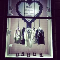 """""""Magasin the house of much loved brands"""", Magasin Du Nord, Department Store, Denmark, pinned by Ton van der Veer"""