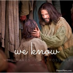 """""""We know who makes it all possible.""""  –Elder Dallin H. Oaks #LDS #LDSconf #quotes"""