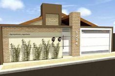 Fence Design, Door Design, House Design, Model House Plan, Courtyard Design, Boundary Walls, Home Exterior Makeover, My Ideal Home, Modern Fence