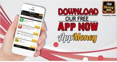 Download Our Free App Now #AppMoney. #AppMoneyOffers #ReferAppMoney Download & Install Here: http://bit.ly/1C8FPEc
