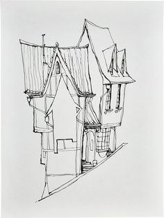 Animation Art:Production Drawing, The Boxtrolls Cheesebridge Concept Sketch Original Art(LAIKA, 2014).... (Total: 3 ) Image #3