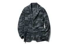Image of SOPHNET. 2013 Spring/Summer Camouflage Seed Stitch Jacket