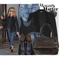 """478.Celebrity Style: Jennifer Aniston"" by nastyaafanasova on Polyvore"