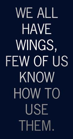 """""""We all have wings,  few of us know how to use them"""" is Martell XO's invitation to rise above."""