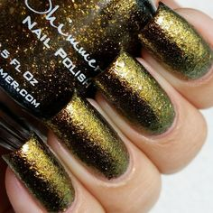 KBShimmer Nail Polish in Pros and Bronze Swatch