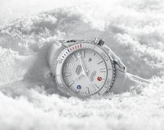 """OMEGA SEAMASTER PLANET OCEAN """"SOTSCHI 2014"""" LIMITED EDITION"""