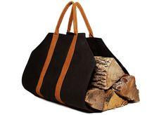 Sacchi porta legna : Fantastiche immagini su portalegna cottage fireplace logs e
