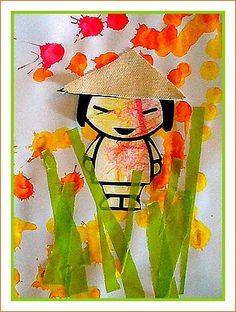 Posez un Parquet Flottant Comme un Pro en 2020 Painting For Kids, Art For Kids, Crafts For Kids, Chinese Crafts, Chinese Art, New Year Art, Pig Crafts, Les Continents, Ecole Art