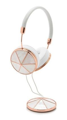 Cool headphone (see link to shop! Cute Headphones, Bluetooth Headphones, Sports Headphones, Electronics Gadgets, Phone Accessories, Mobile Accessories, Headset, Rose Gold, Pearl Rose