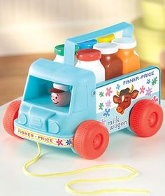 Fisher-Price® Milk Wagon™~ I can't believe this is still being sold!