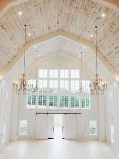 Lighting and Color Ideas for Barn Loft