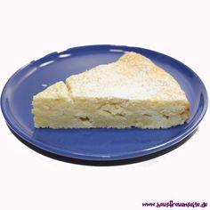 Zitronen-Ricottakuchen  der Zitronen-Ricottakuchen schmeckt bodenlos lecker vegetarisch