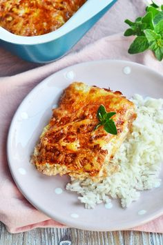 Sajtos-tejfölös tepsis karaj Easy Healthy Recipes, Meat Recipes, Easy Meals, Human Well Being, Hungarian Recipes, Recipe Using, Lasagna, Risotto, Food And Drink