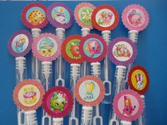 Shopkins party favors Shopkins birthday bubbles by SassyCreationz