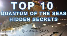 Top 10 secret spots on Quantum of the Seas! #royalcaribbean #travel #cruise