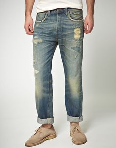Levis Vintage 1947 501 Straight Jeans