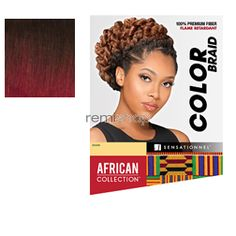 African Collection Color Braid - Color T1B/BG - Synthetic Braiding