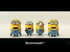 "Minions ""Banana"" haha I cannot wait for Despicable Me 2! @Kelsey Bender @Chelsea Storms"
