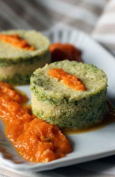 Tortino di broccoli e cous cous, cucina con sara