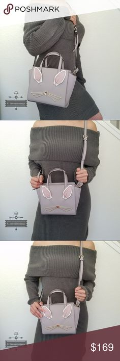 ac9e7696d704 NWT Kate spade mini Hayden rabbit hop to it bag 100% Authentic Kate Spade ♤