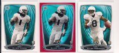2014 Bowman ALLEN HURNS Orange Serial# 5/199 RC+Base RC+Allen Robinson-RC *JAGS* #JacksonvilleJaguars