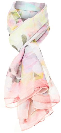 Love this: Electric Daydream Sheer Silk Scarf Cape TED BAKER LONDON dressmesweetiedarling
