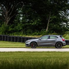 You may not run like a track star, but you can drive like one.  #MBPhotoCredit @jeremycliff  #Mercedes #Benz #GLA45 #AMG #Benz #instacar #carsofinstagram #germancars #luxury