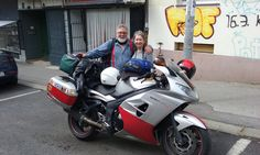 Ron and his better half paid a visit to Lobagola Mototours all the way from Australia  #lobagolabnb #zagreb #center #croatia #advrider #rider #motorcycle #bike #cycling #travel #travelerschoice2015 #adventurer #traveler #overland #globaltraveler #overlanding #ktm #bmw #ktmadv #bmwgs #natgeo #visitcroatia #visitzagreb #yellowelephantpath
