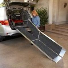 We offer portable,lightweight, and folding wheelchair ramps by EZ Access. Portable Ramps, Handicap Ramps, Scooter Ramps, Access Ramp, Ramp Design, Surface Design