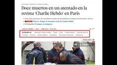 Uso de etiquetas en El País para la documentación periodística