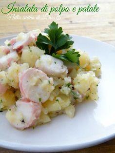 insalata di polpo e patate - nella cucina di laura